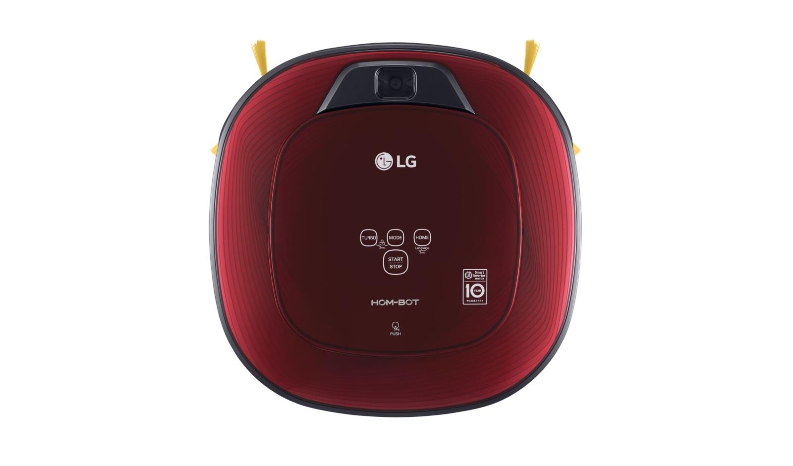 LG VR86010RR robotický vysavač