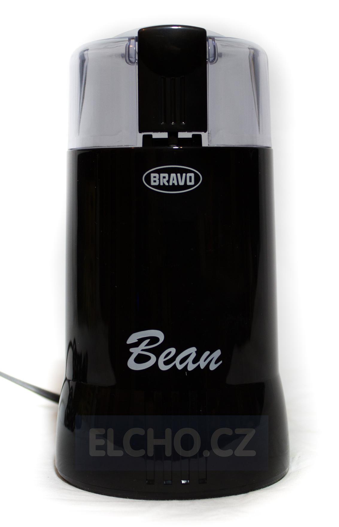 BRAVO B 4307 kávomlýnek černý