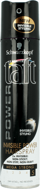 TAFT Lak na vlasy Invisible power 250ml
