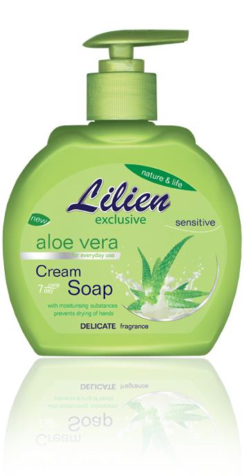 LILIEN tekuté mýdlo Aloe Vera 500ml