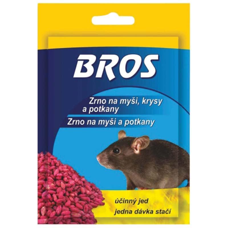 BROS Zrno na myši, krysy a potkany 100g