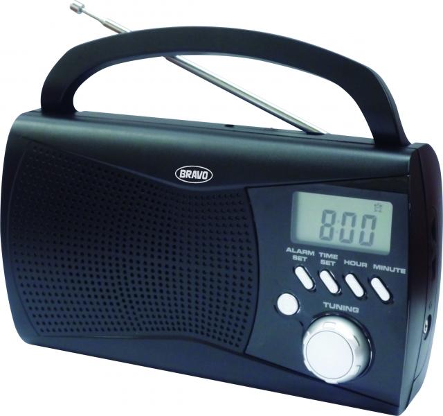 BRAVO B 6010 rádio digitální černé