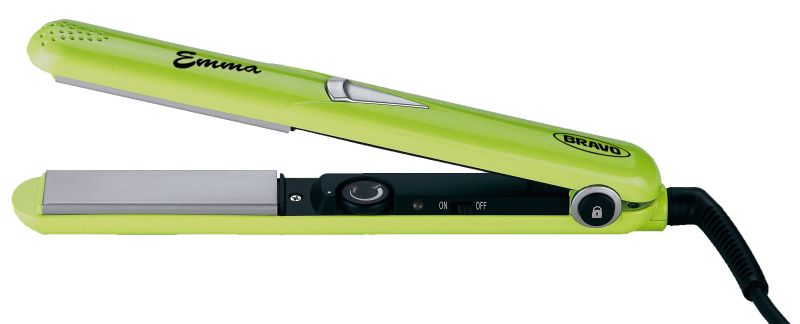 BRAVO B 4327 EMMA žehlička na vlasy zelená