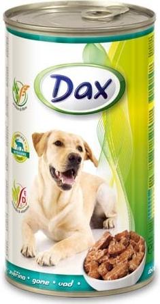 DAX konzerva pro psy 1240g zvěřina