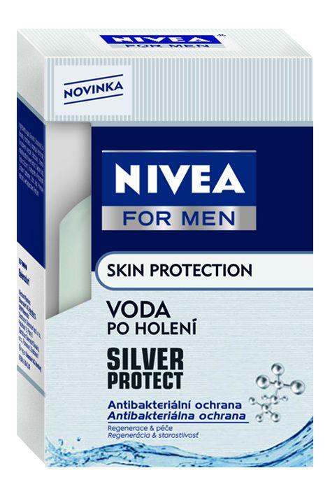 NIVEA FOR MEN Voda po holení SILVER 100ml