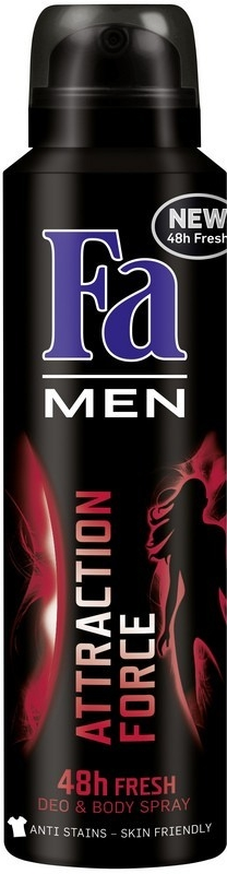 FA Deospray men ATTRACTION FORCE 150ml