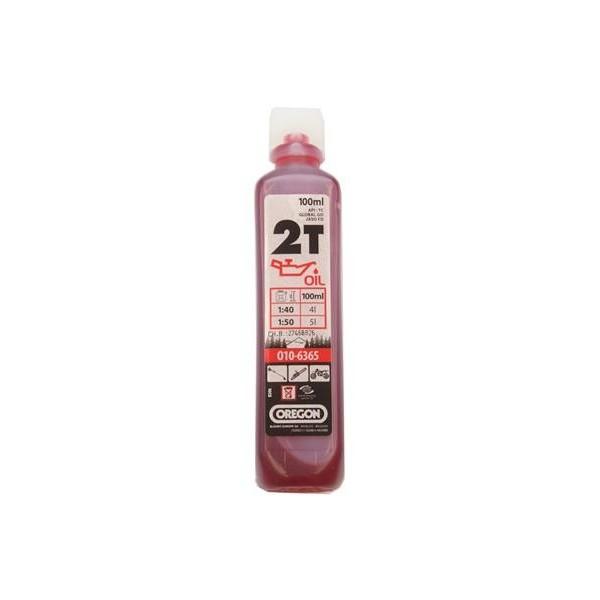 OREGON 2T Olej 100ml polosyntetický červený