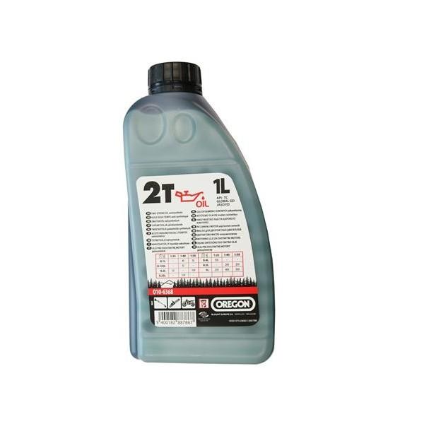 OREGON 2T Olej 1L polosyntetický zelený