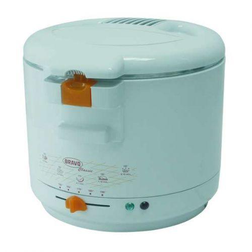 BRAVO CLASSIC 2l fritovací hrnec teflon-bílý