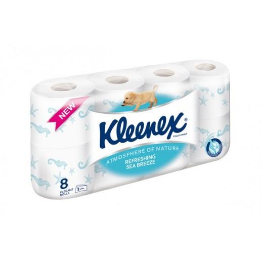 KLEENEX Toaletní papír Sea breeze 8 rolí