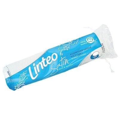 LINTEO Satin kosmetické vatové polštářky 100ks