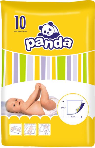 BELLA PANDA přebalovací podložky 10ks