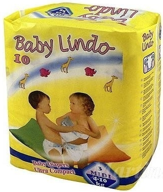 BABY Lindo 3 Midi 4-10kg 10ks