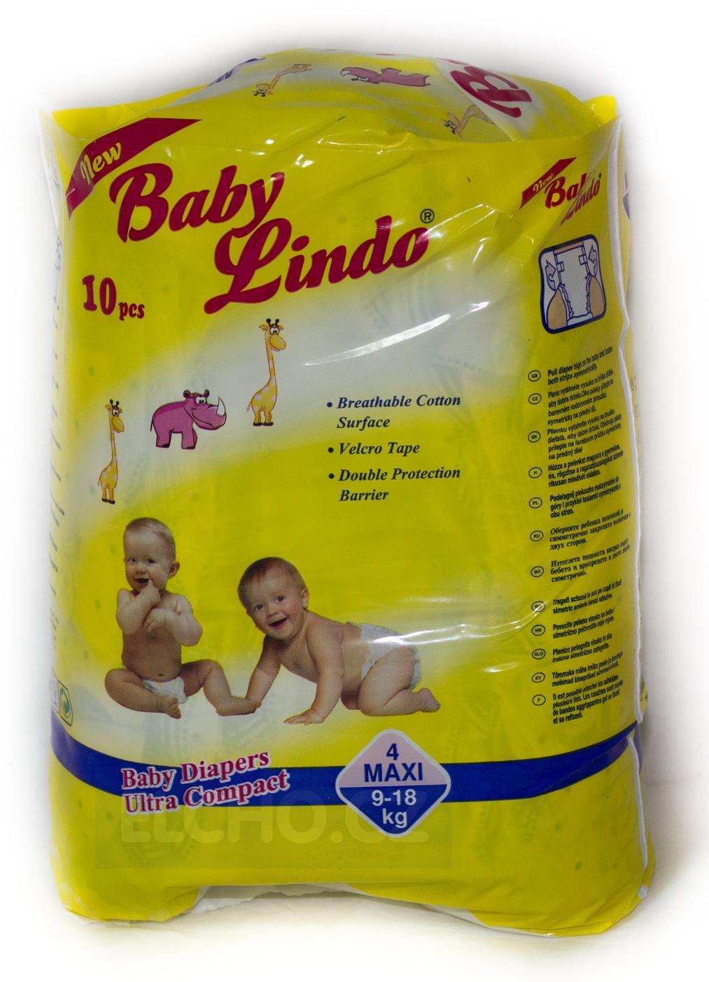 BABY Lindo Maxi 4 9-18kg 10ks