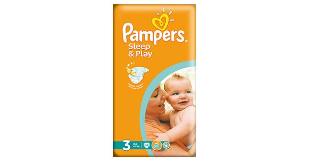 PAMPERS Sleep and Play midi 5-9kg 58ks
