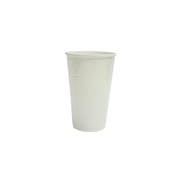 KELÍMEK Bílý plastový 0,2l 25ks