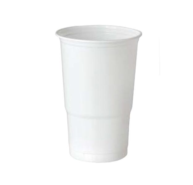 KELÍMEK Bílý plastový 0,5l 10ks