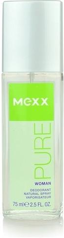 MEXX Dámský deodorant sklo PURE WOMAN 75ml