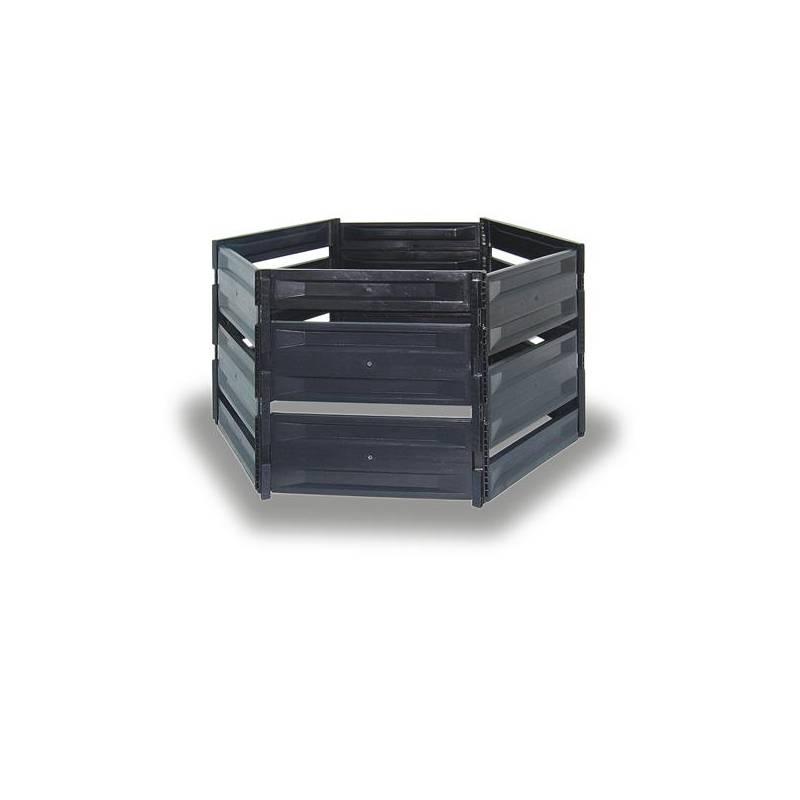 JELÍNEK-TRADING Kompostovací silo S 650 černé