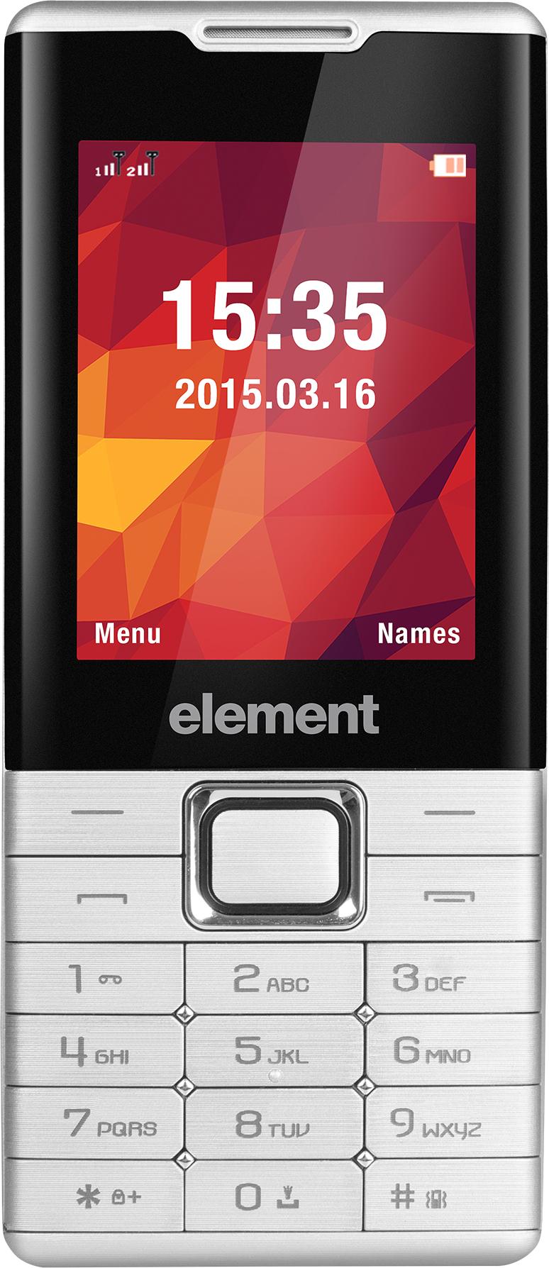 SENCOR Element P020 telefon stříbrný