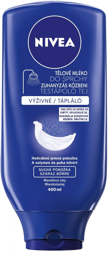 NIVEA Tělové mléko do sprchy výživné 400ml