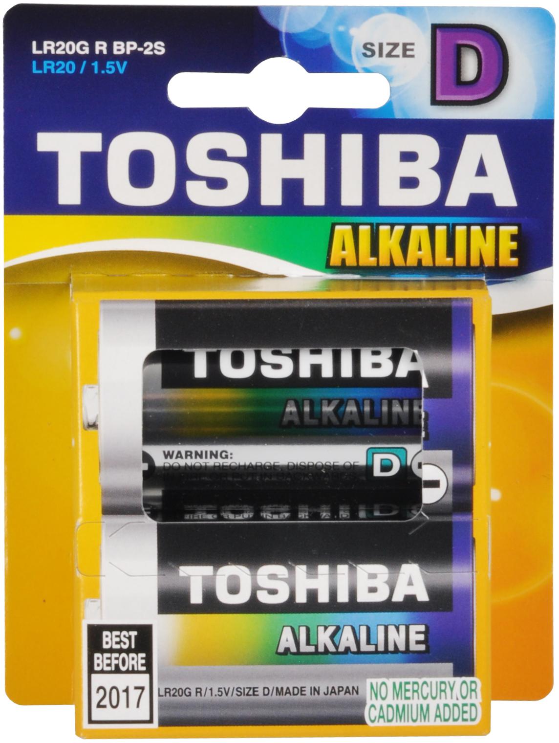 TOSHIBA LR20 baterie monočlánek GR 2BP D