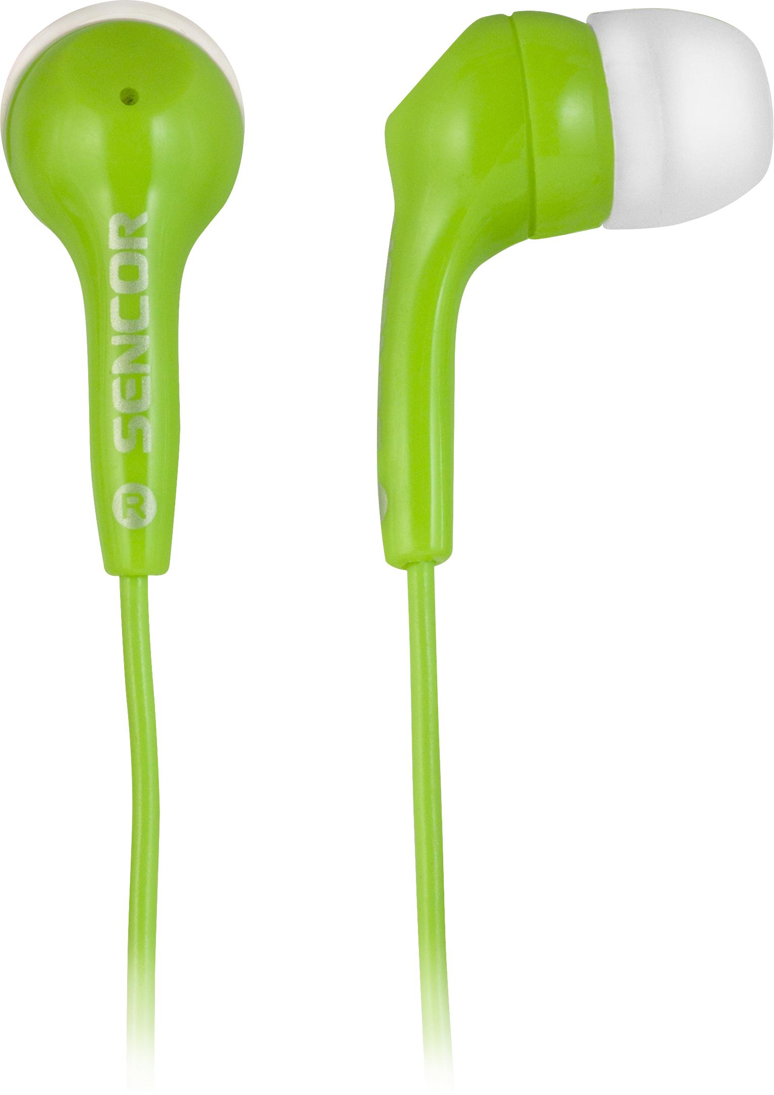 SENCOR SEP 120 Sluchátka zelená
