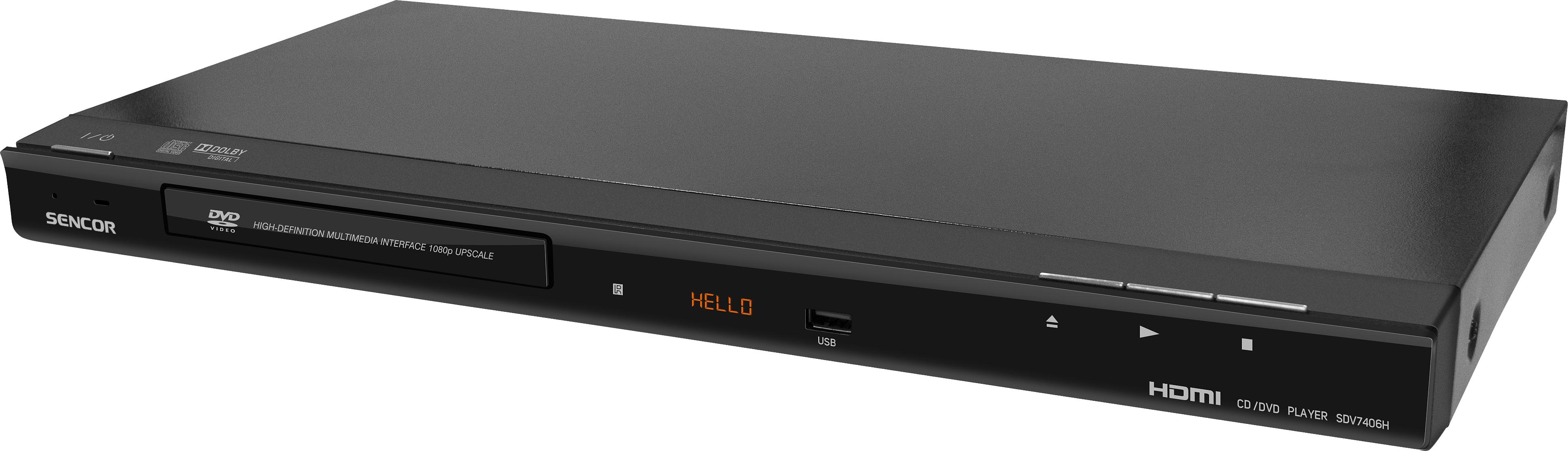 SENCOR SDV 7406H HDMI DVD přehrávač