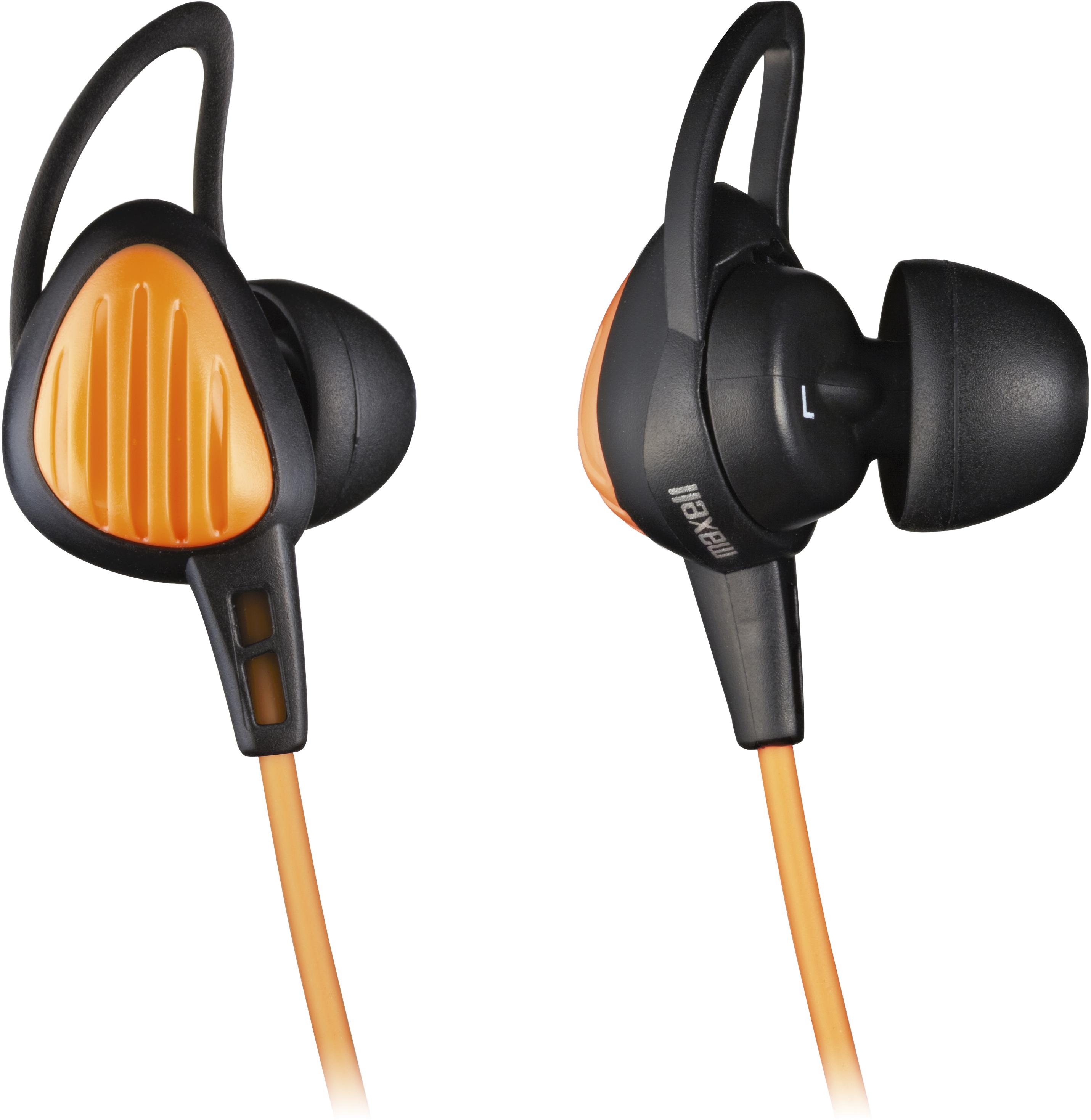 MAXELL HP-S20 Sportovní sluchátka oranžová