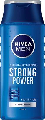 NIVEA FOR MEN Strong power šampon 250ml