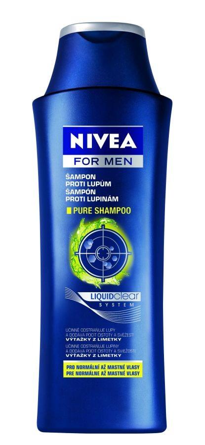 NIVEA FOR MEN Šampon proti lupům PURE 250ml
