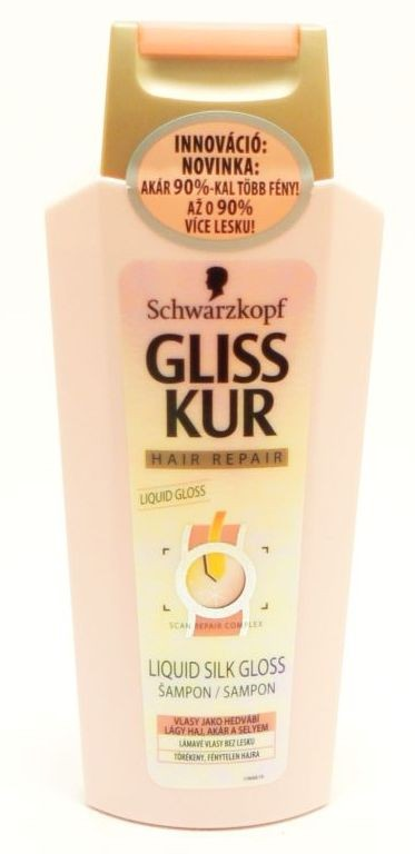 GLISS KUR liquid silk gloss šampon 250ml