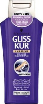 GLISS KUR ultimate volume regenerační šampon 250ml
