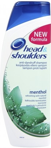 HEAD SHOULDERS šampon menthol 400ml