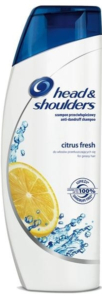 HEAD SHOULDERS šampon Citrus fresh 400ml