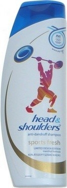HEAD SHOULDERS šampon Sports fresh 400ml