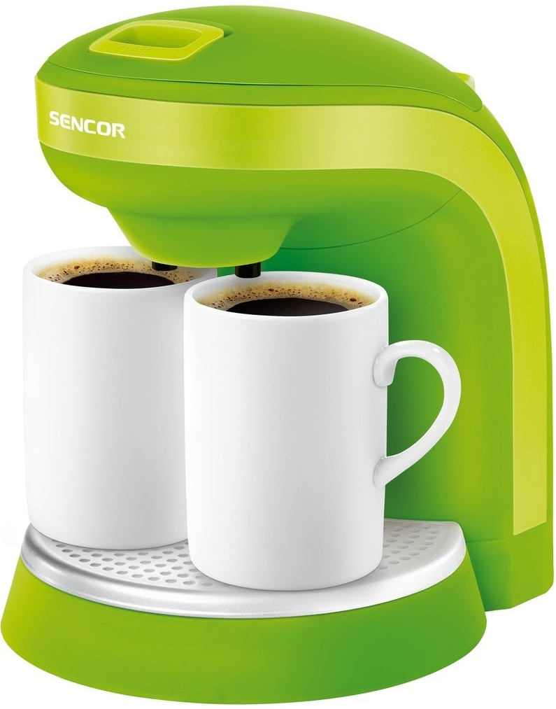 SENCOR SCE 2002GR Kávovar zelený