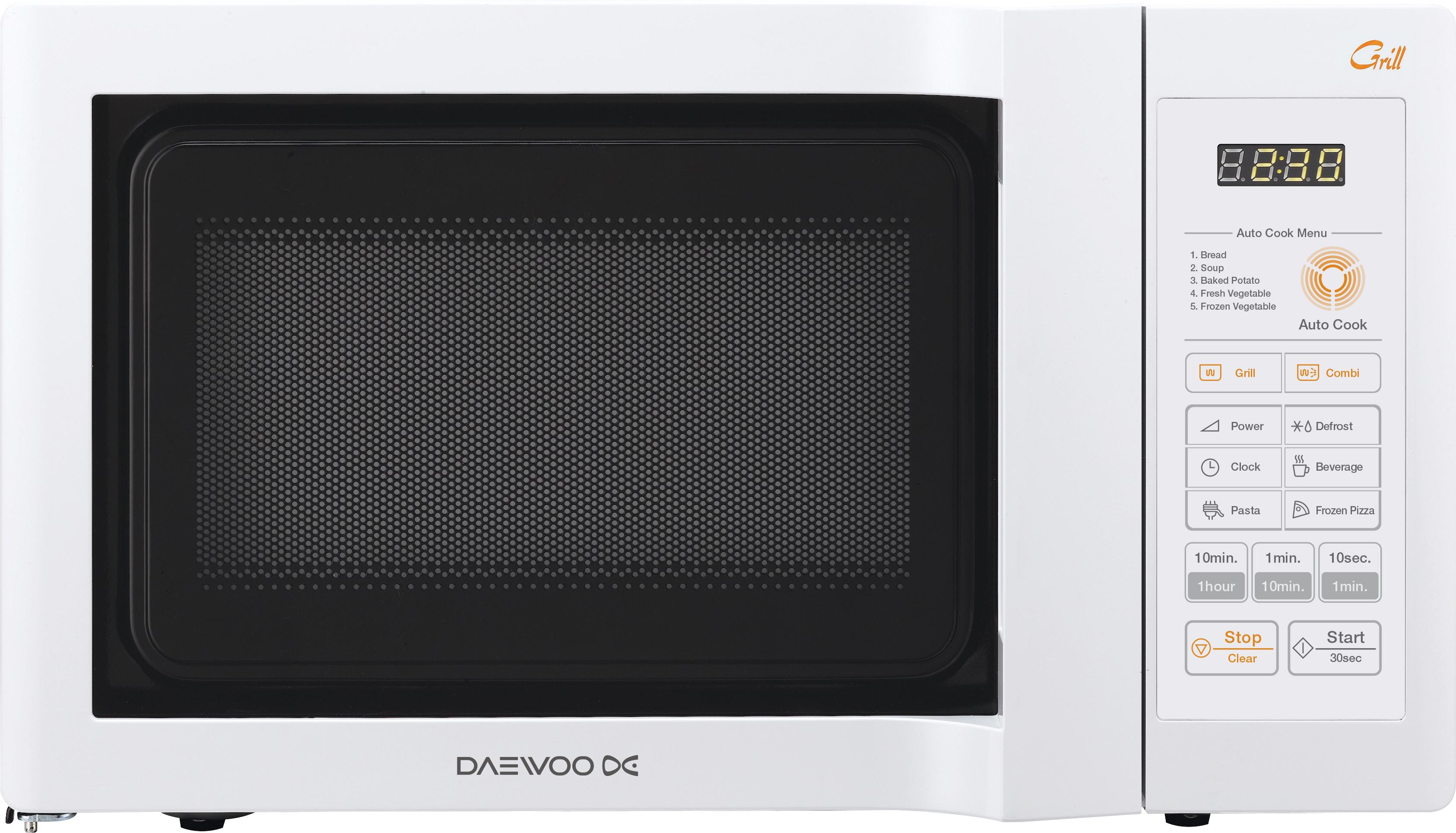 DAEWOO KQG 6L6BW mikrovlnná trouba s grilem
