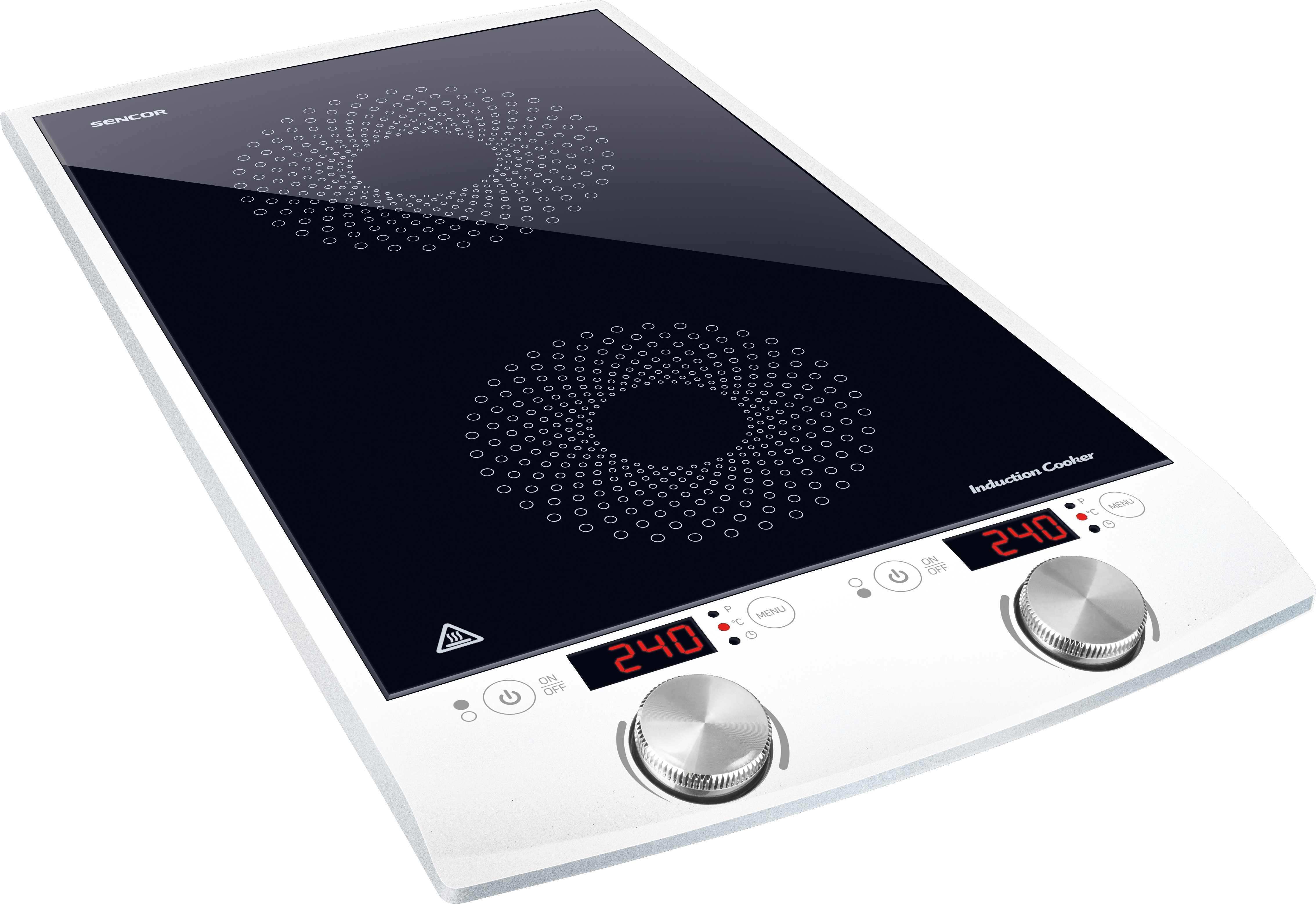 SENCOR SCP 4203WH Indukční vařič dvouplot.
