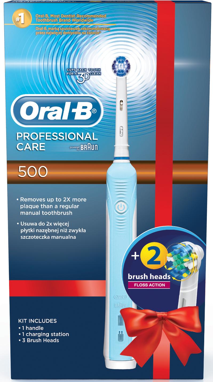 ORAL B VITALITY 3D white + EB 18-2 3D kartáček