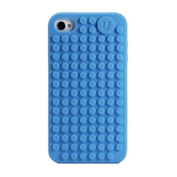 UANYI C001-N iPhone 4/4s obal modrý