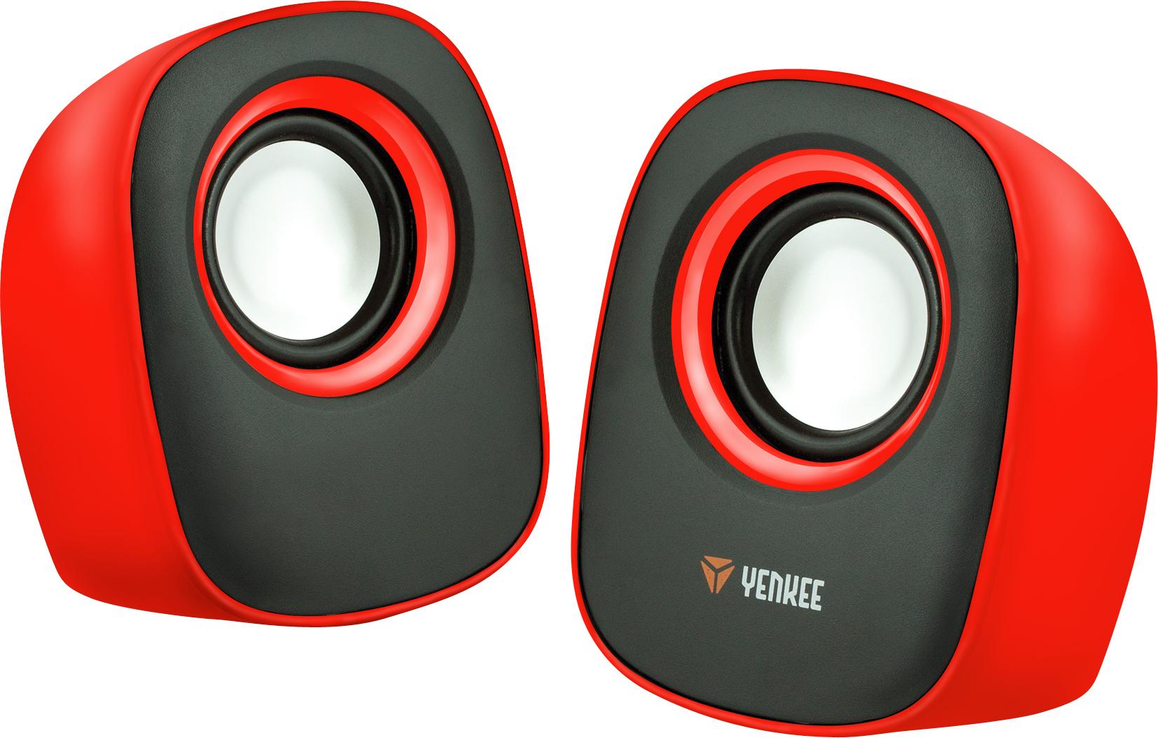 YENKEE YSP 2001RD Mini reproduktory 2.0 červené