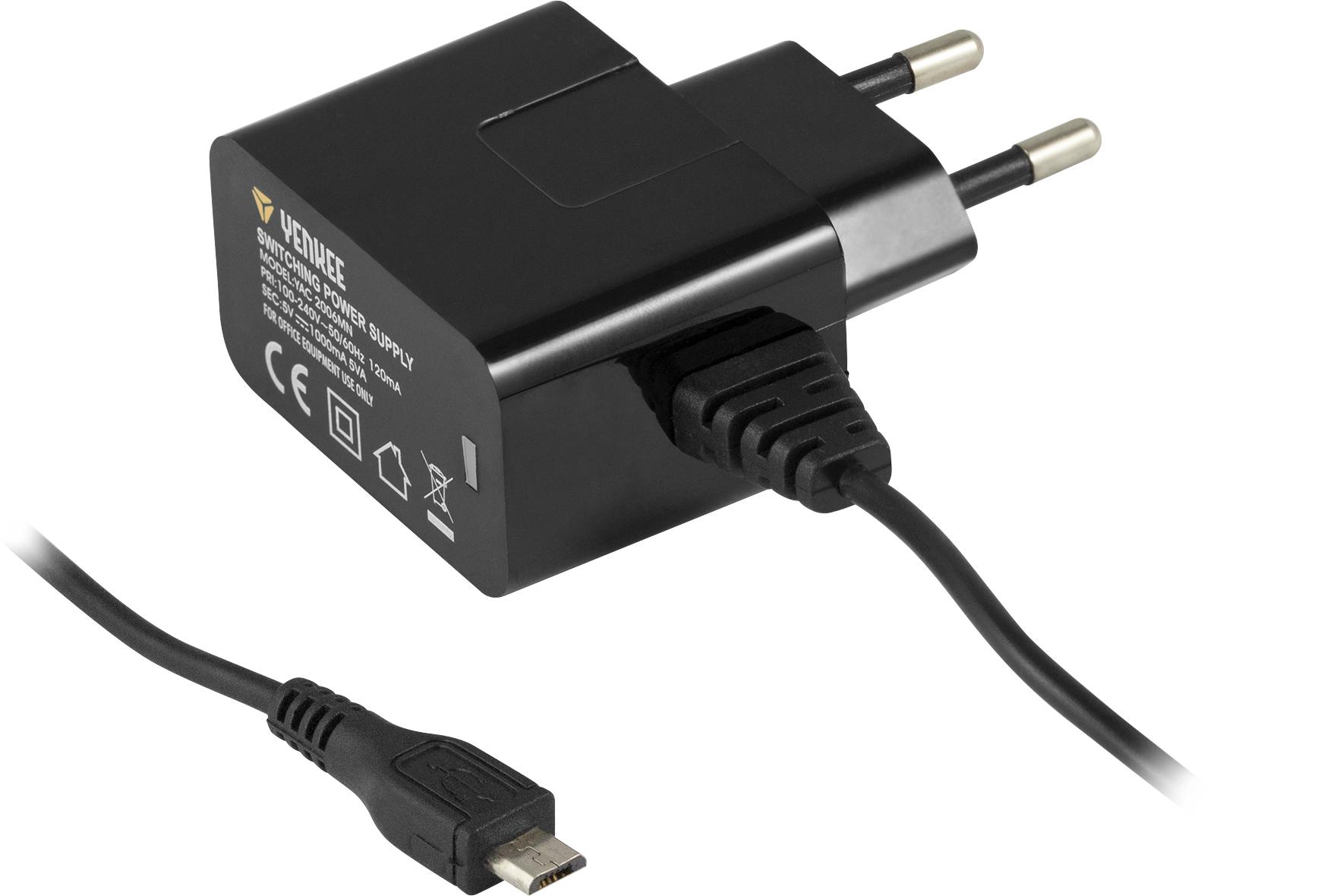 YENKEE YAC 2006MC Micro USB nabíječka 1A