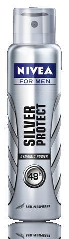 NIVEA FOR MEN Silver protect sprej AP 150ml