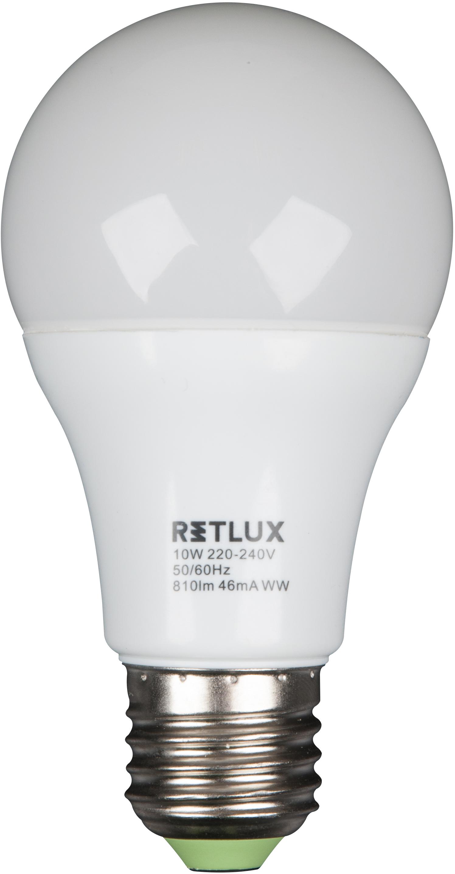 RETLUX RLL 15 žárovka LED A60 10W E27