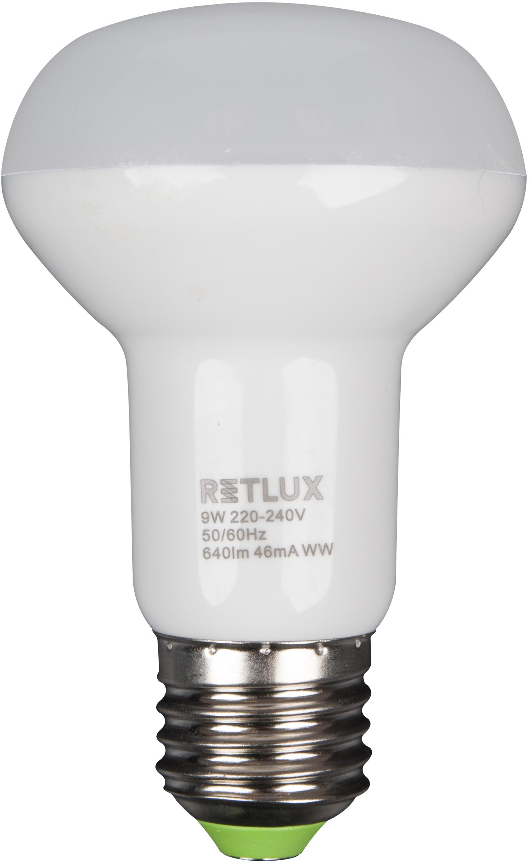 RETLUX RLL 34 žárovka LED R63 9W E27