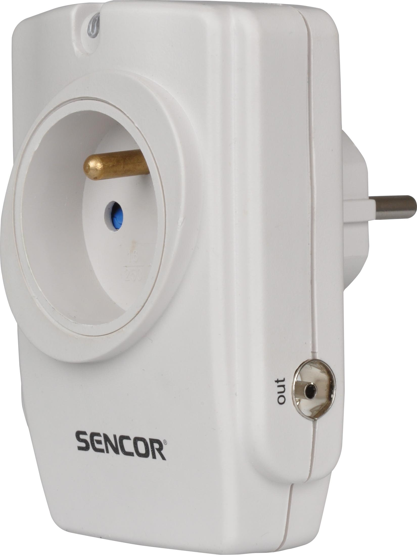 SENCOR SSP 110 přepěťová ochrana 1 zásuvka
