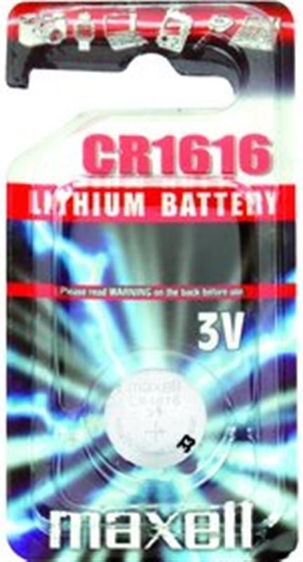 MAXELL CR 1616 baterie 3V knoflíková