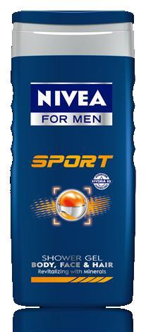 NIVEA FOR MEN Sport sprchový gel 250ml