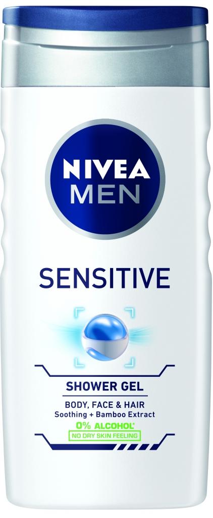 NIVEA sensitive sprchový gel 250ml